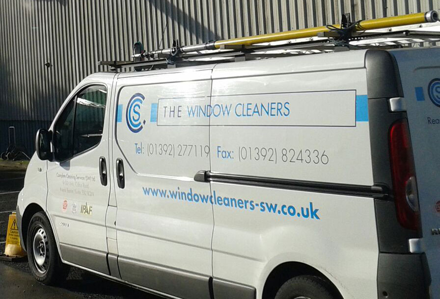 The Window Cleaners, in Exeter, Devon
